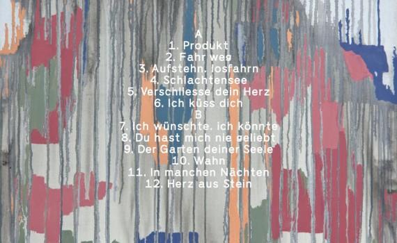 Und aus den Wolken tropft die Zeit Albumcover